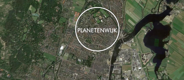 Planetenwijk-Plattegrond