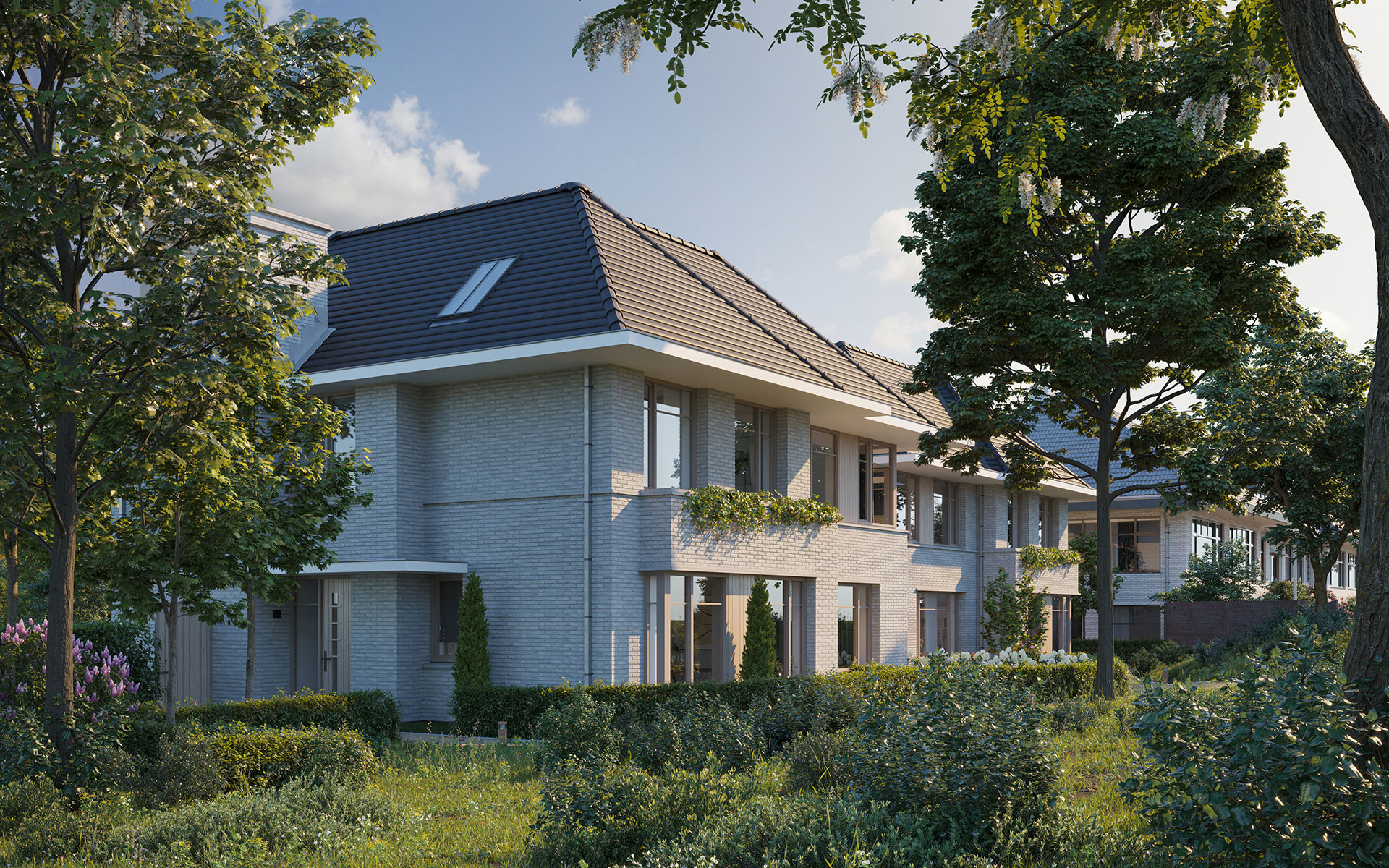 Nieuwbouwwoningen-Brouwerskolk-Overveen-Foto