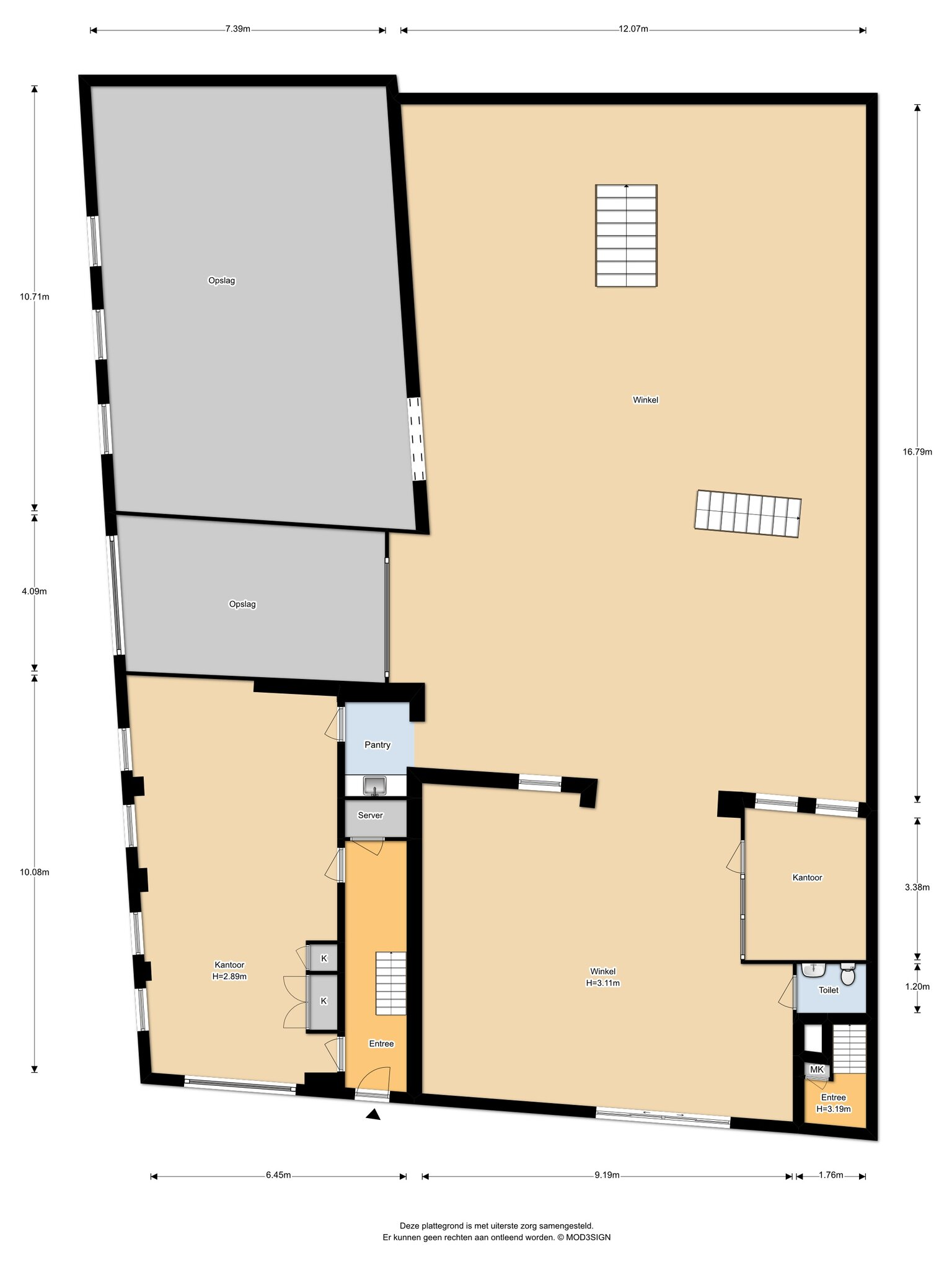 Haarlem – Stephensonstraat 4- 6 – Plattegrond 7