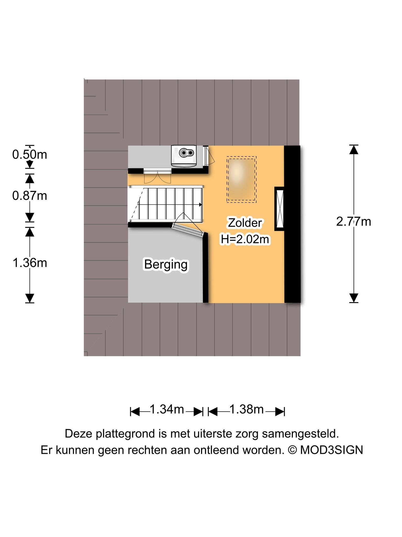 Haarlem – Spaarnelaan 16 – Plattegrond 6
