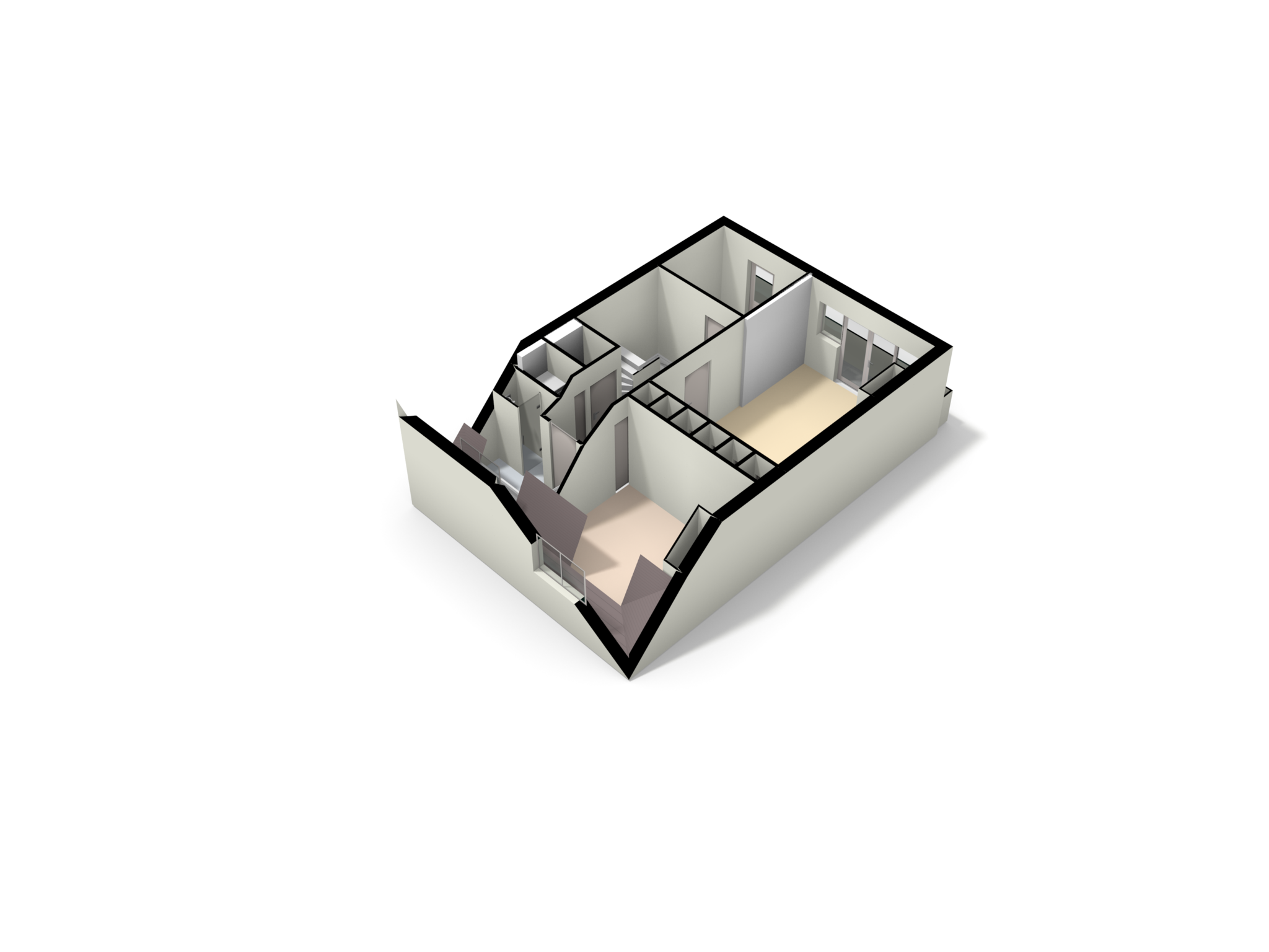 Amsterdam – Valeriusstraat 250-3+4 – Plattegrond 6