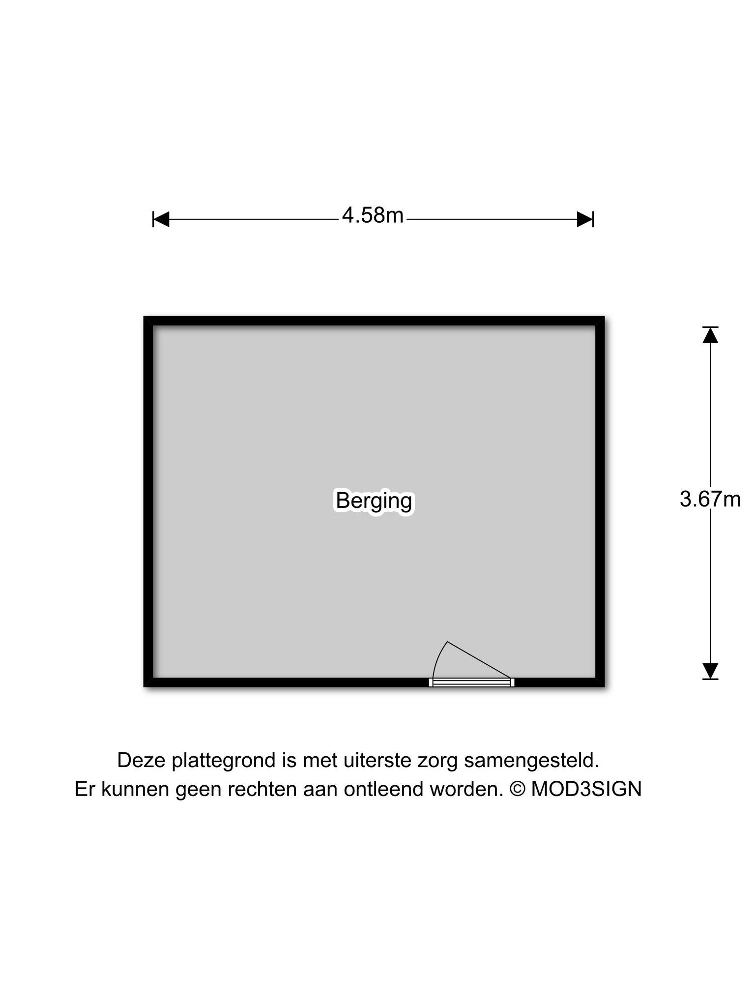 Haarlem – Watermolenplantsoen 27 – Plattegrond 3
