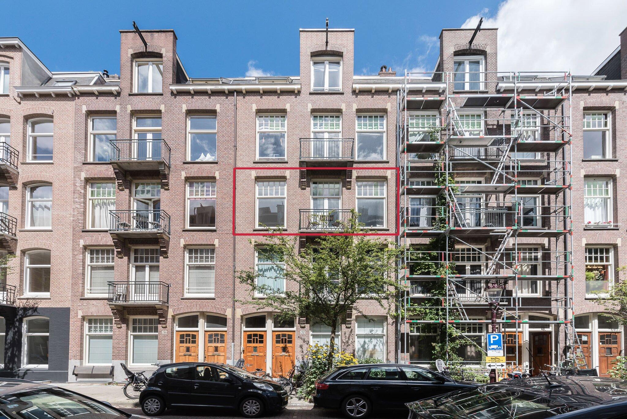 Amsterdam – Valeriusstraat 282II – Hoofdfoto