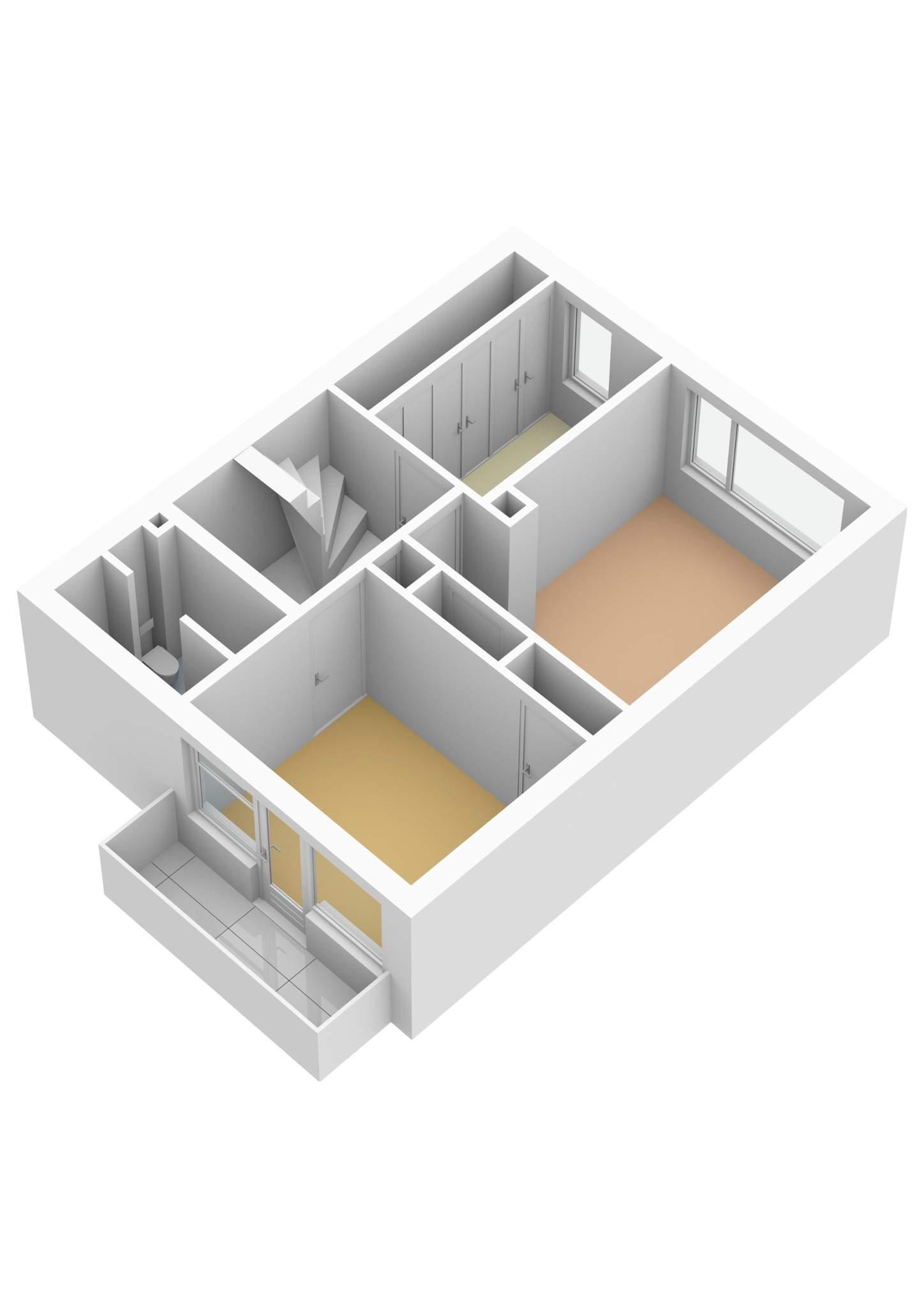 Ouderkerk aan de Amstel – Hogerlustlaan 8 – Plattegrond 4